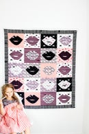 Image 1 of Kiss Me Kate Lip Quilt