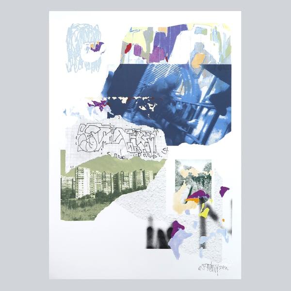 "Image of Silkprint poster ""Vagalism"""