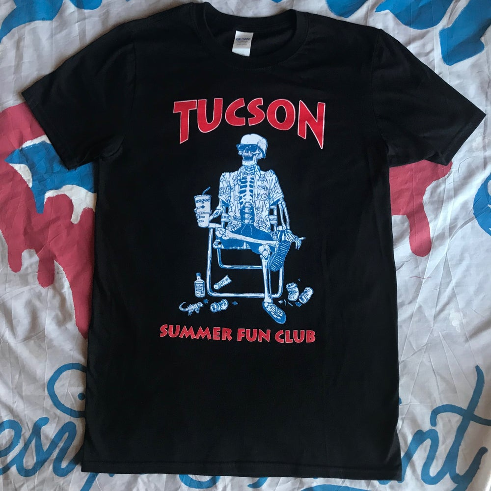 Image of T.S.F.C. - Red, Blue & white - Black