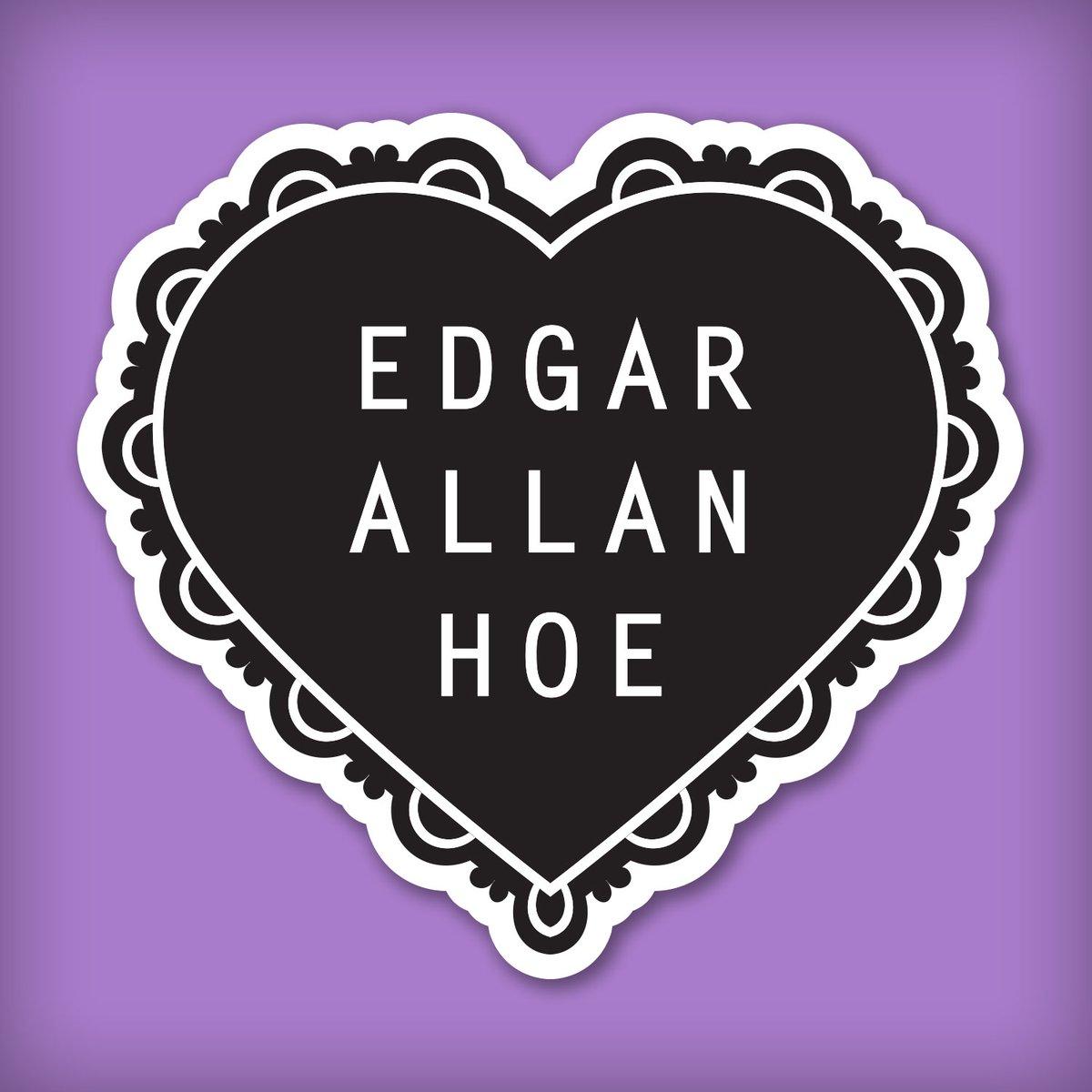 Image of Edgar Allan Hoe Sticker