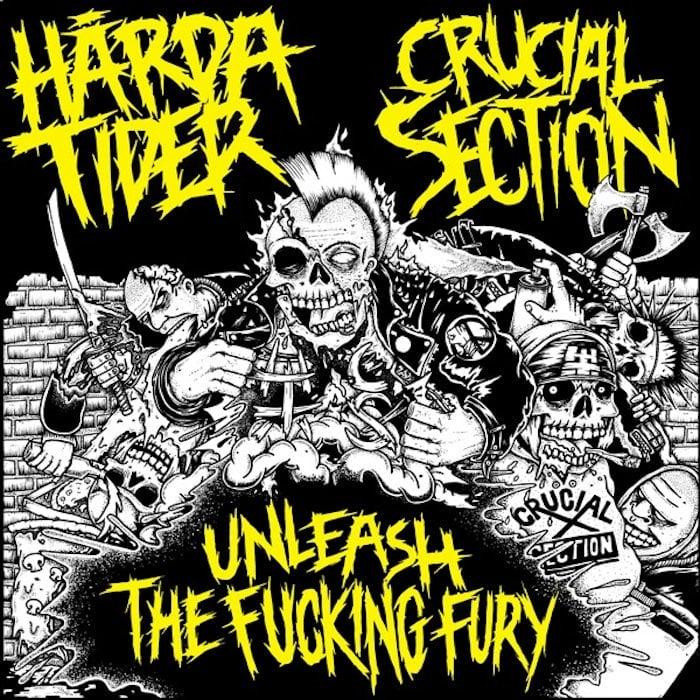 """Image of Hårda Tider // Crucial Section Split 7"""""""