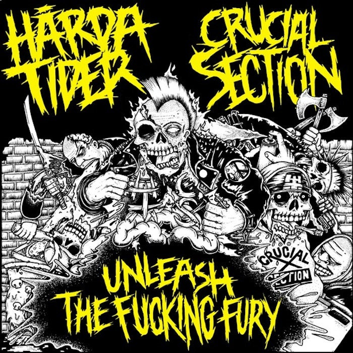 Image of Hårda Tider // Crucial Section Split 7""