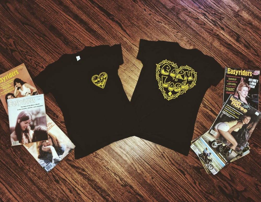 Image of 'Live to Win/ Born to Lose' tees ( LADIES TEE)