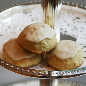 Image of Egg Nog Cookies with an Egg Nog Glaze - TWO DOZEN