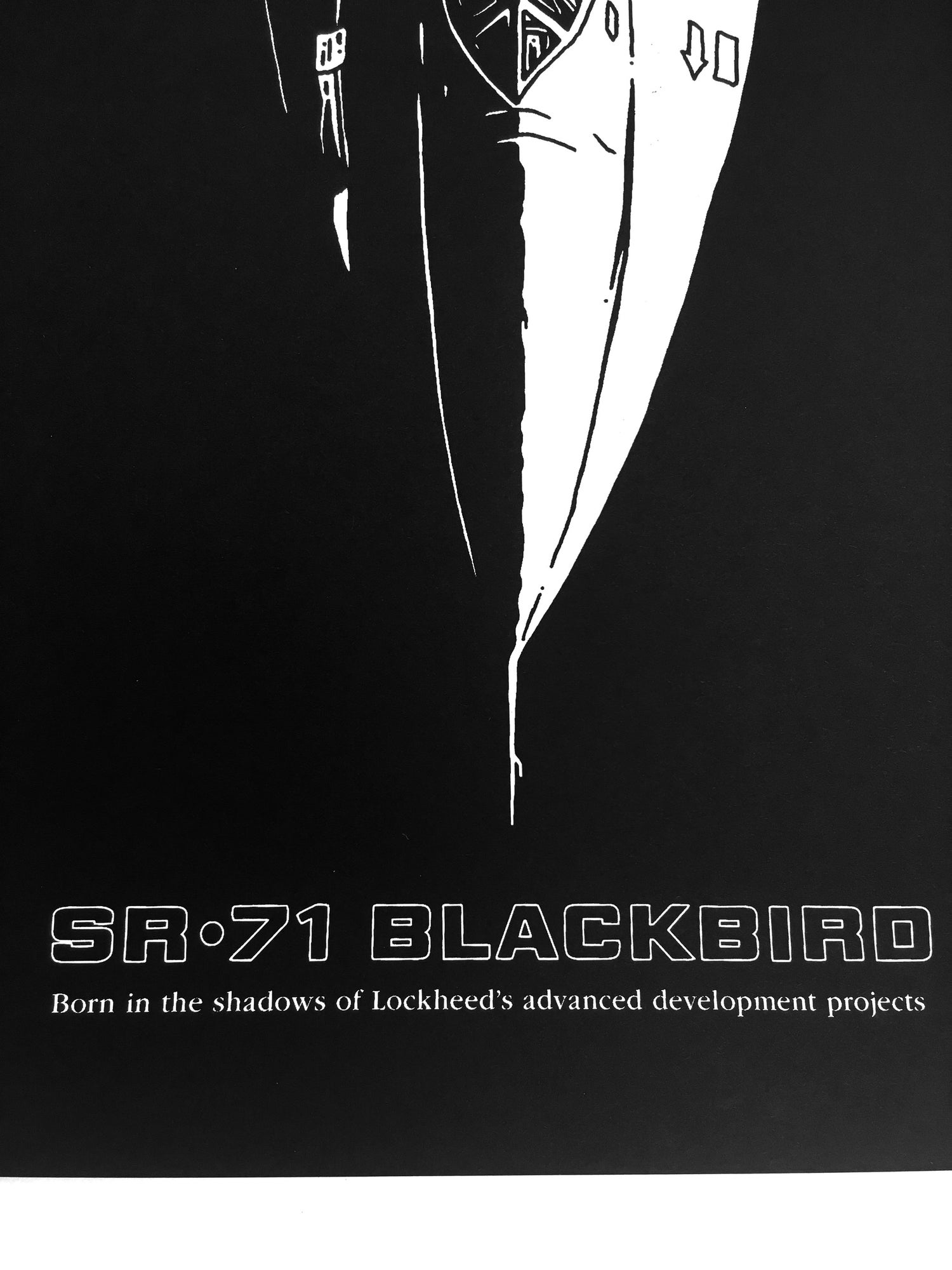 Image of SR-71 poster