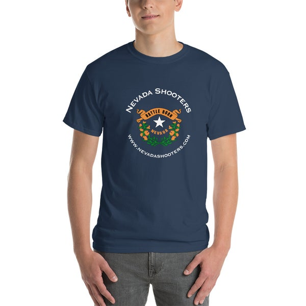 Image of Nevada Shooters - Battle Born T-Shirt (Blue Dusk, S-5XL)