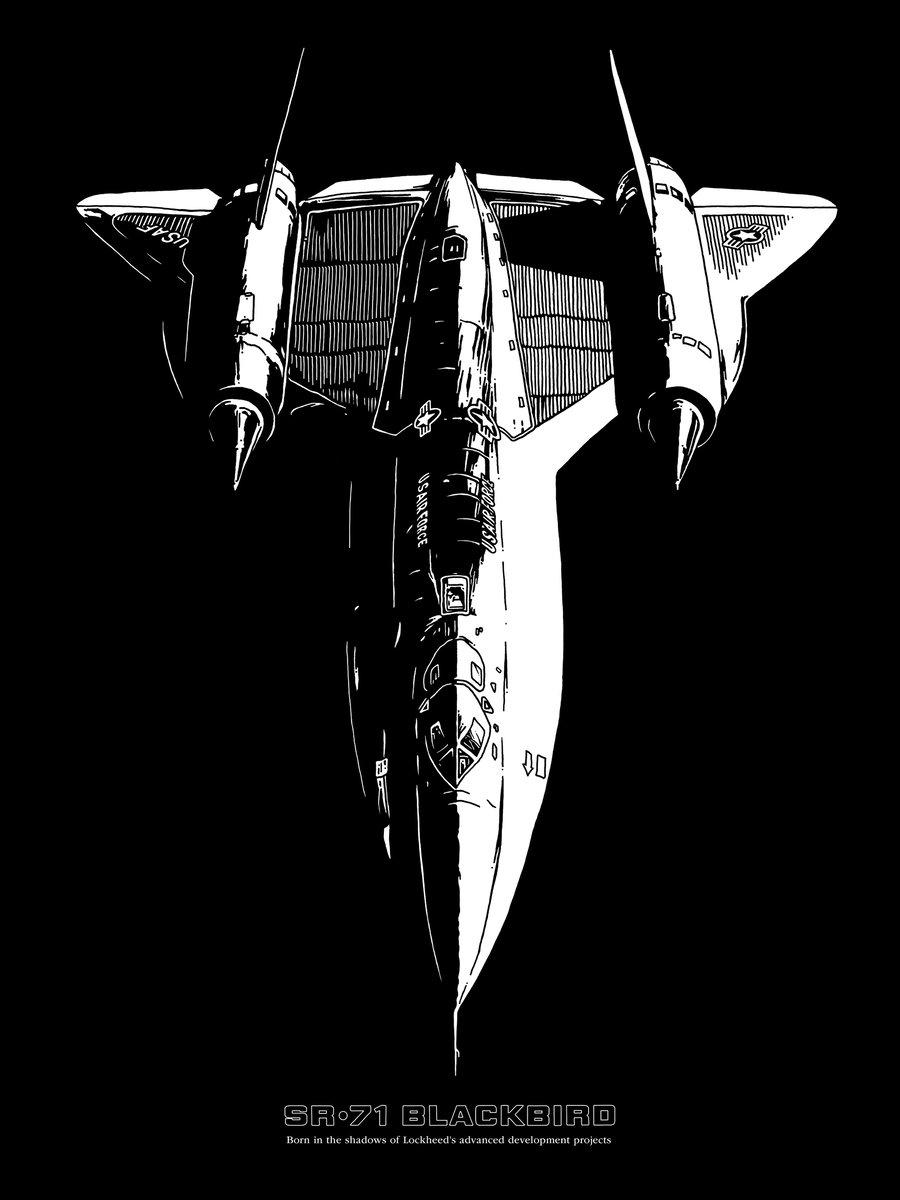 Image of SR-71 poster