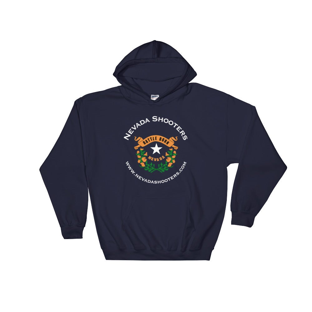 Image of Nevada Shooters - Battle Born Hoodie (Navy)