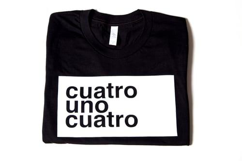 Image of CUATRO UNO CUATRO - SHORT SLEEVE - UNISEX