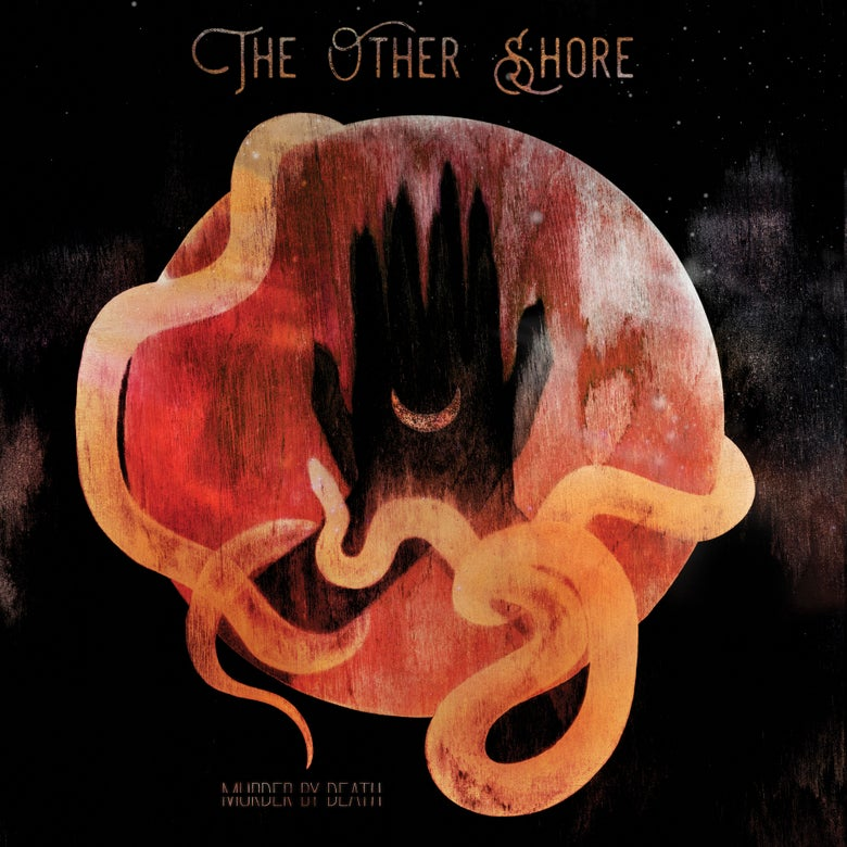 "Image of CD of our new album ""The Other Shore"""