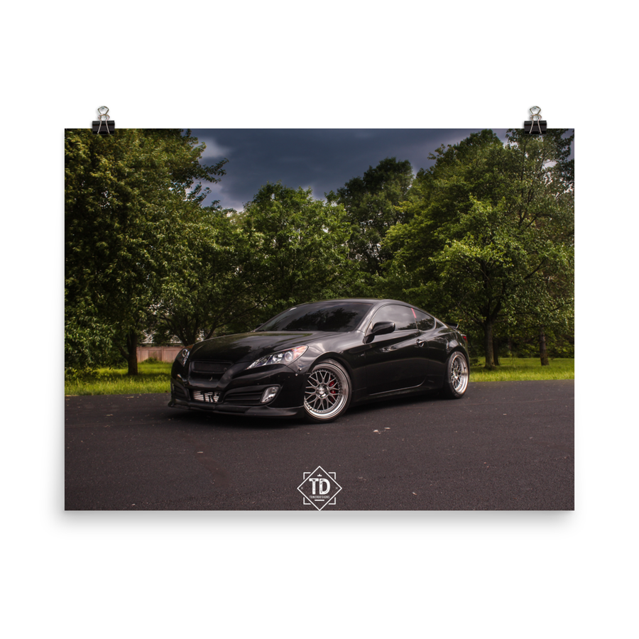 Image of Genesis Coupe Poster