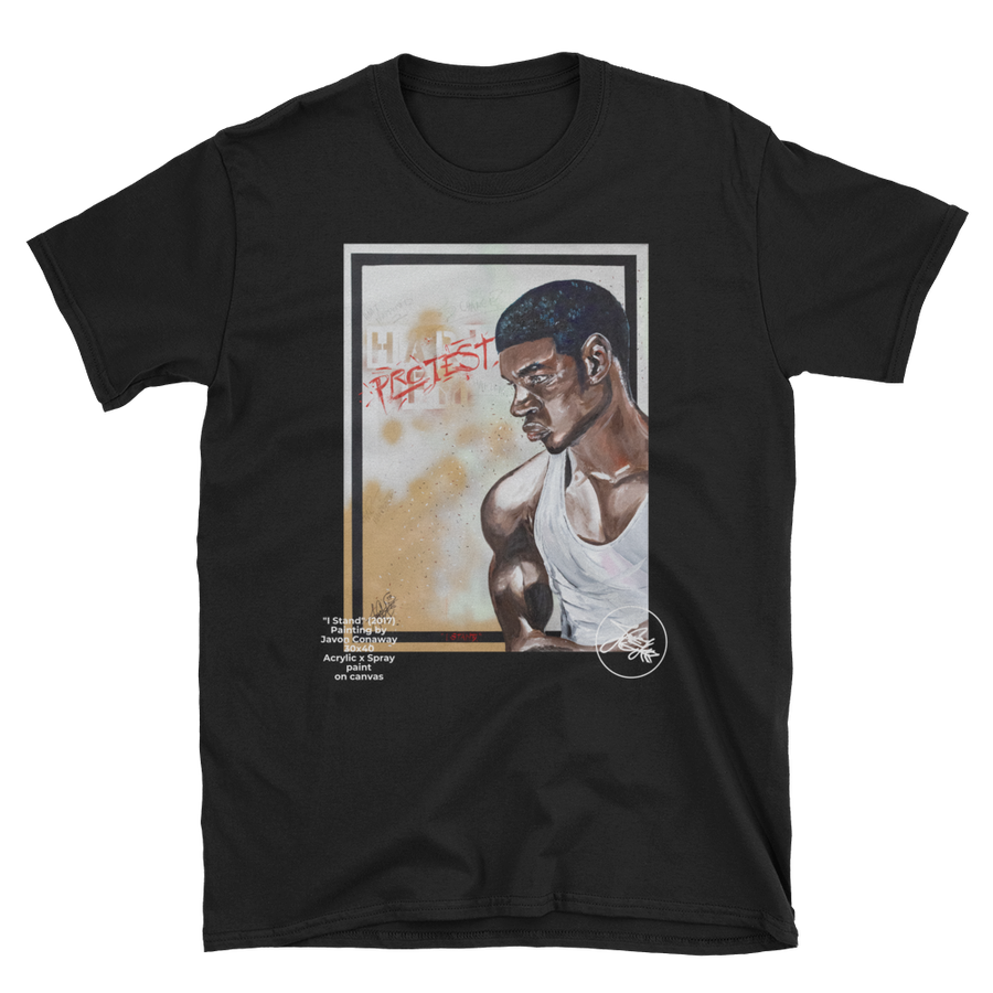 "Image of ""I Stand"" Painting tee"