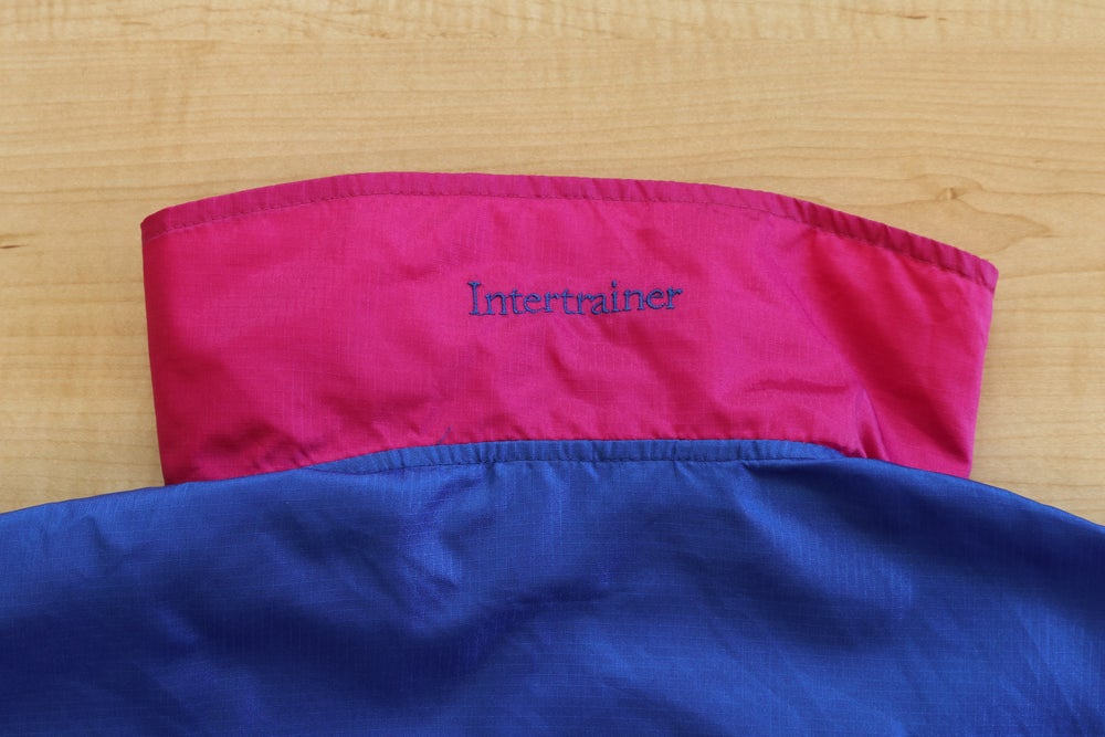 "Image of Vintage 1980's Columbia ""Intertrainer"" Colorblock Windbreaker Sz.M (Women's)"