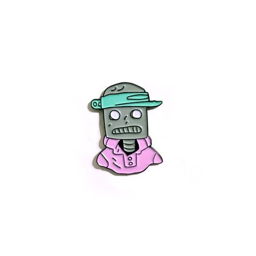 Image of Brobot Enamel Pin