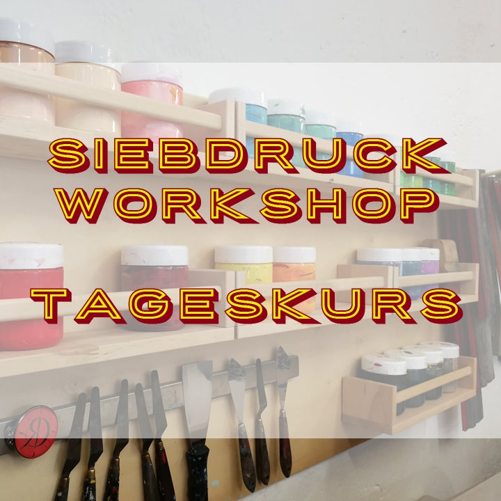 Image of SIEBDRUCK WORKSHOP - TAGESKURS