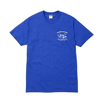 Image of STEEZE.LTD - EVENING DELIGHT TEE (ROYAL BLUE)