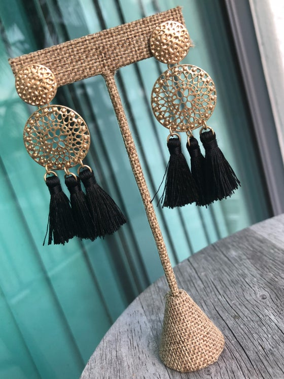 Image of Elizabeth Statement earrings