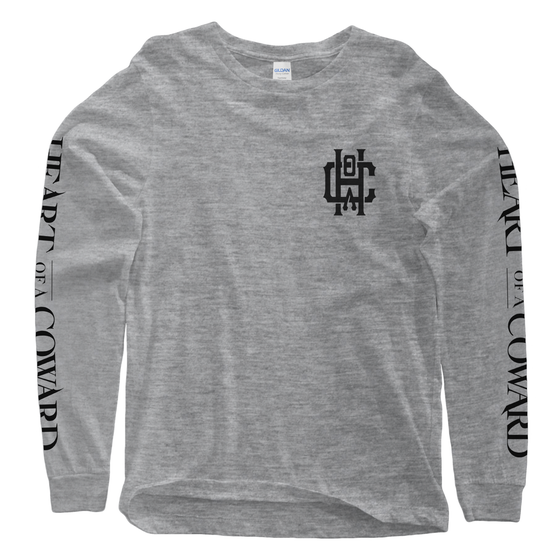 Image of Emblem Longsleeve - Grey