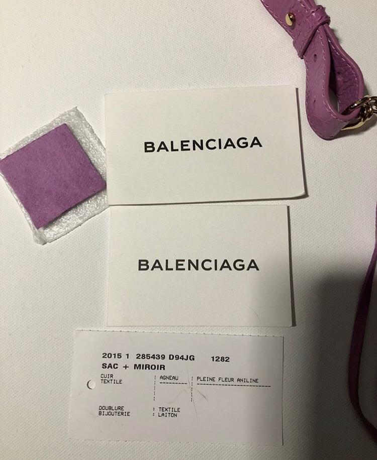 Image of BALENCIAGA POMPON BAG