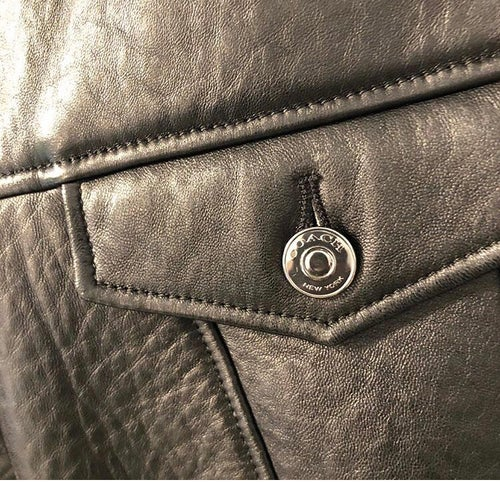 Image of COACH LEATHER JACKET