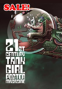 Image of SALE! 50% off! 21st Century Tank Girl Poster Magazine Special (with sampler)
