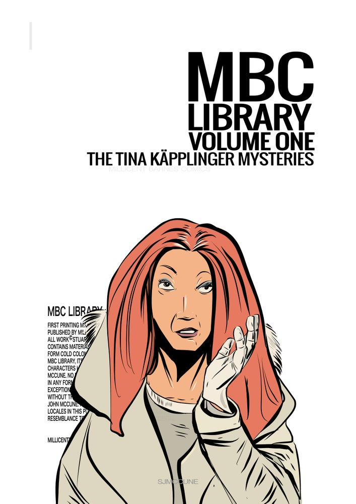 Image of MBC Library Vol.1 - The Tina Käpplinger Mysteries DIGITAL VERSION