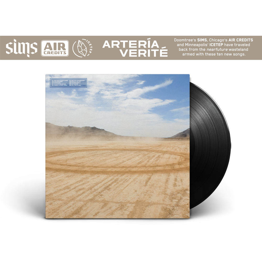 Image of Arteria Verite - Sims x Air Credits x ICETEP (STANDARD LP)