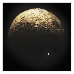 Image of Dark Side Of The Moon - Gold / Silver Leaf