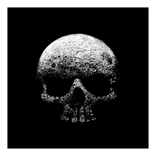 Image of Legacy Moon Skull - Glow in the Dark!