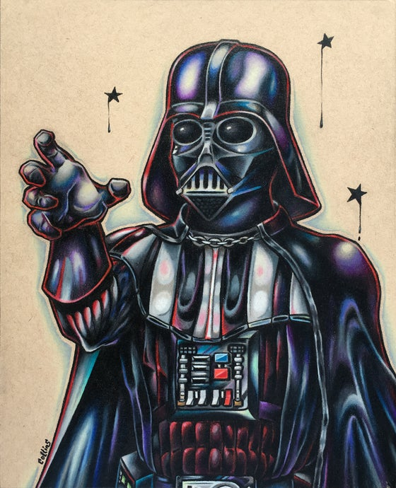 Image of Darth Vader ORIGINAL Art