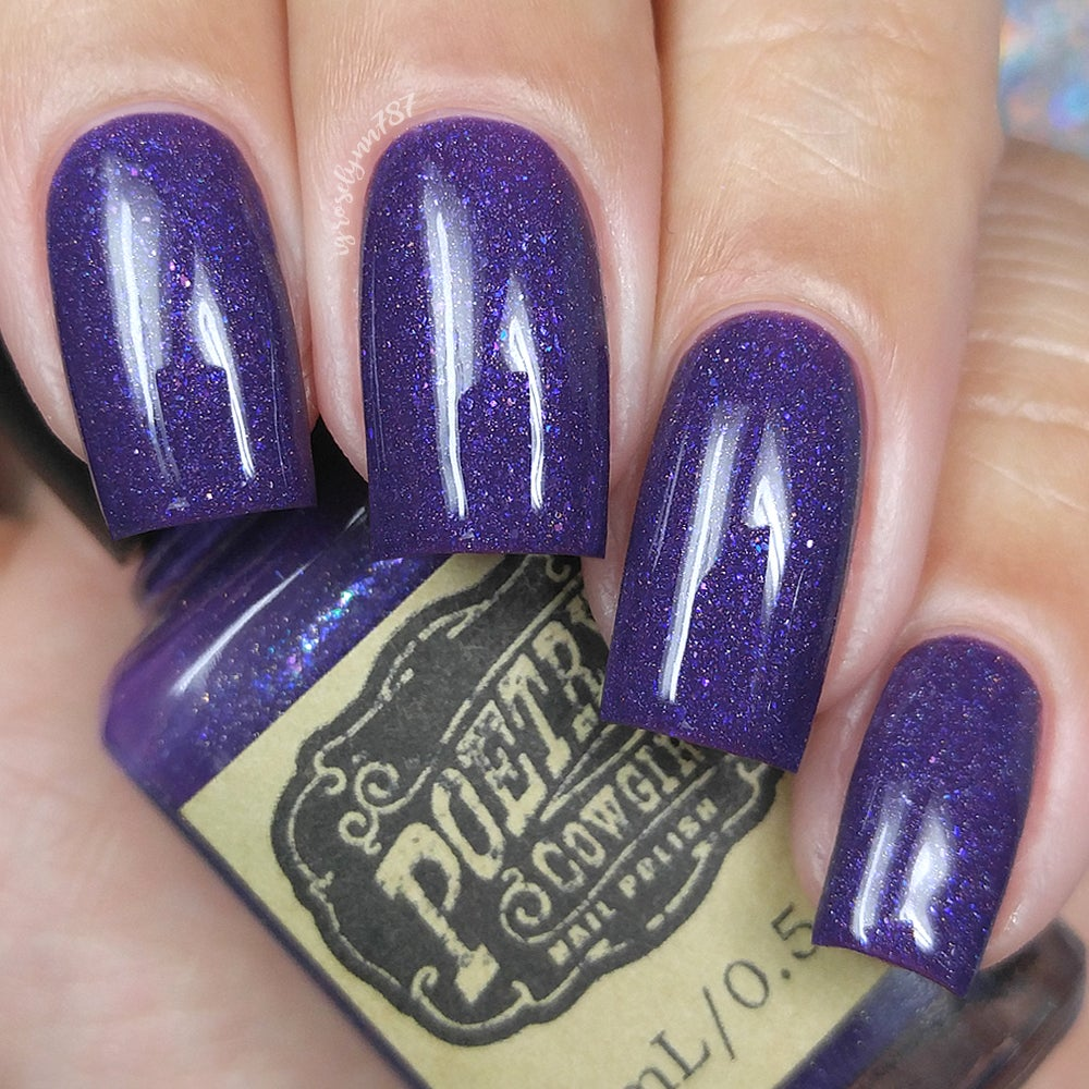 Purple Heart / Poetry Cowgirl Nail Polish