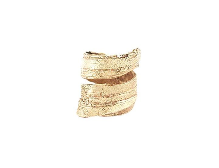 Image of Bark Men's Spiral Ring
