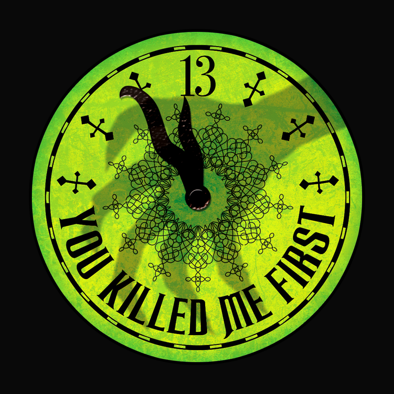 Image of The Haunted Clock - Sticker