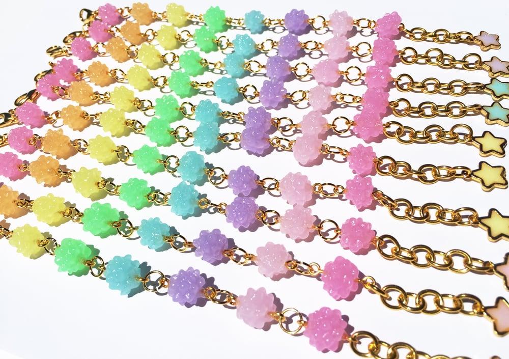 Image of Rainbow Konpeito bracelet