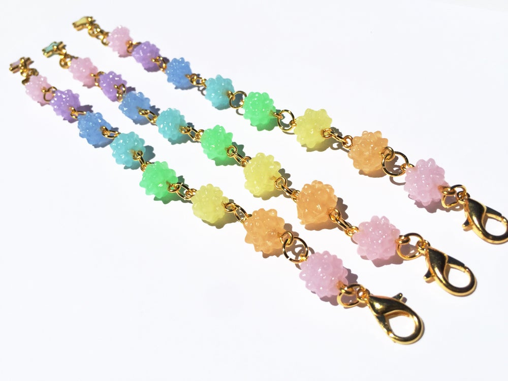 Image of Light Rainbow Konpeito Bracelet