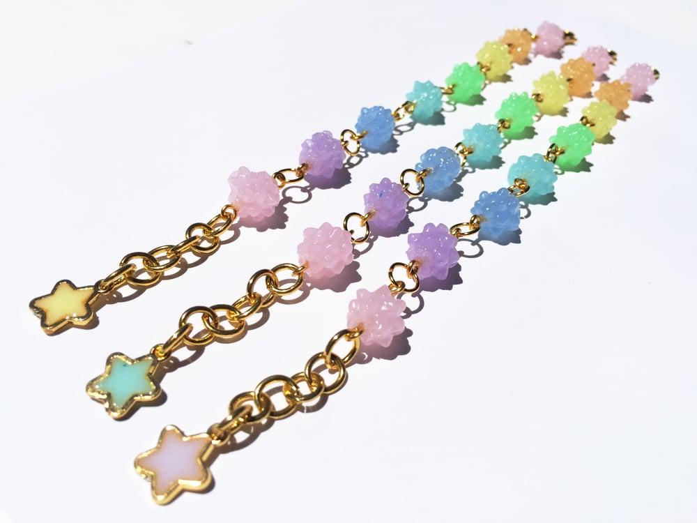 Image of Light Rainbow Konpeito Bracelet