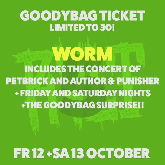 Image of GOODYBAG TICKET (LIMITED TO 30)