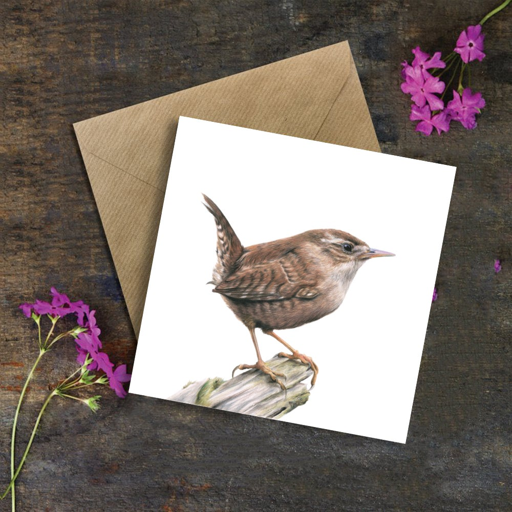 Image of 'Wren' Greeting Card