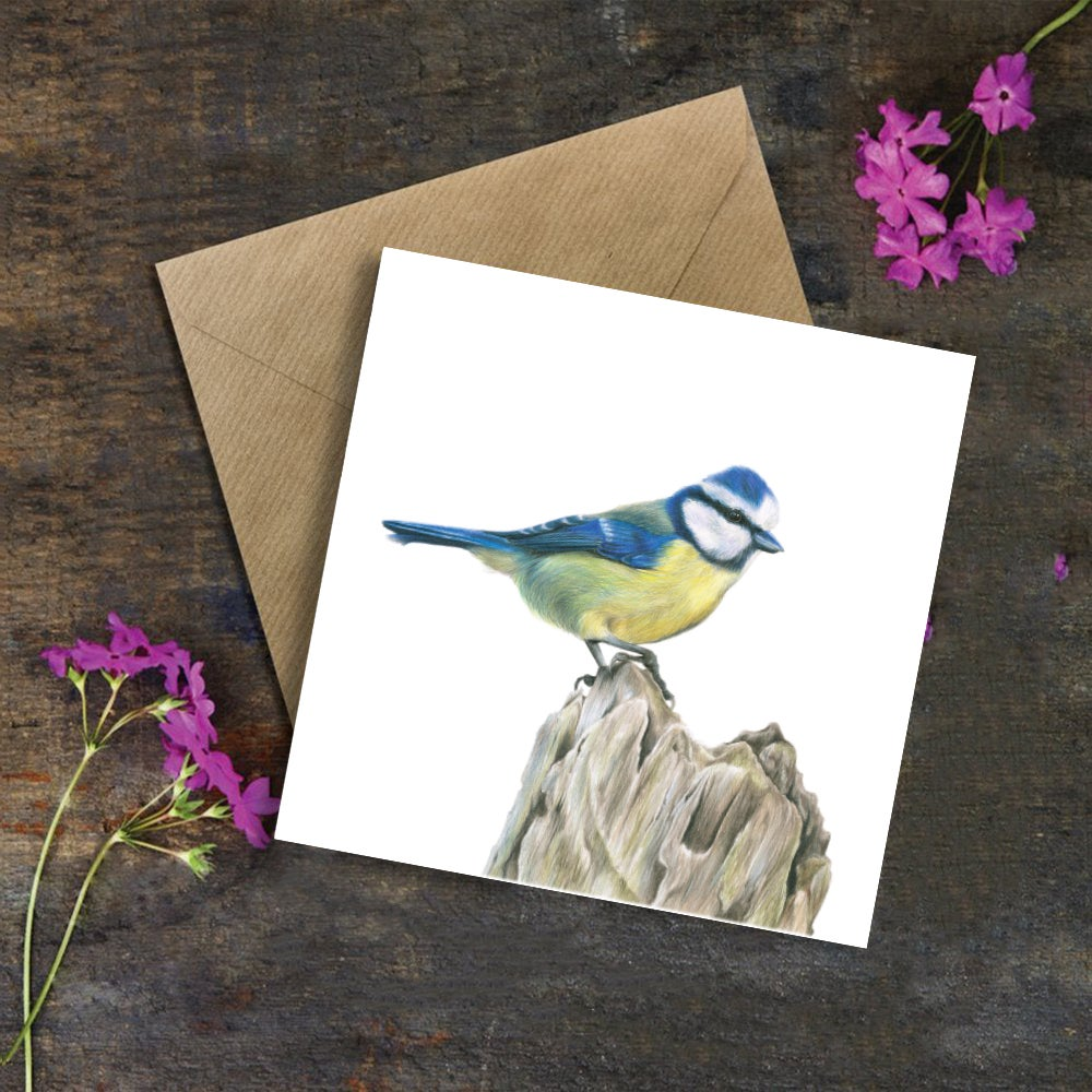 Image of 'Blue Tit' Greeting Card