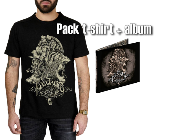 Image of Pack t-shirt + 1 album Backbone