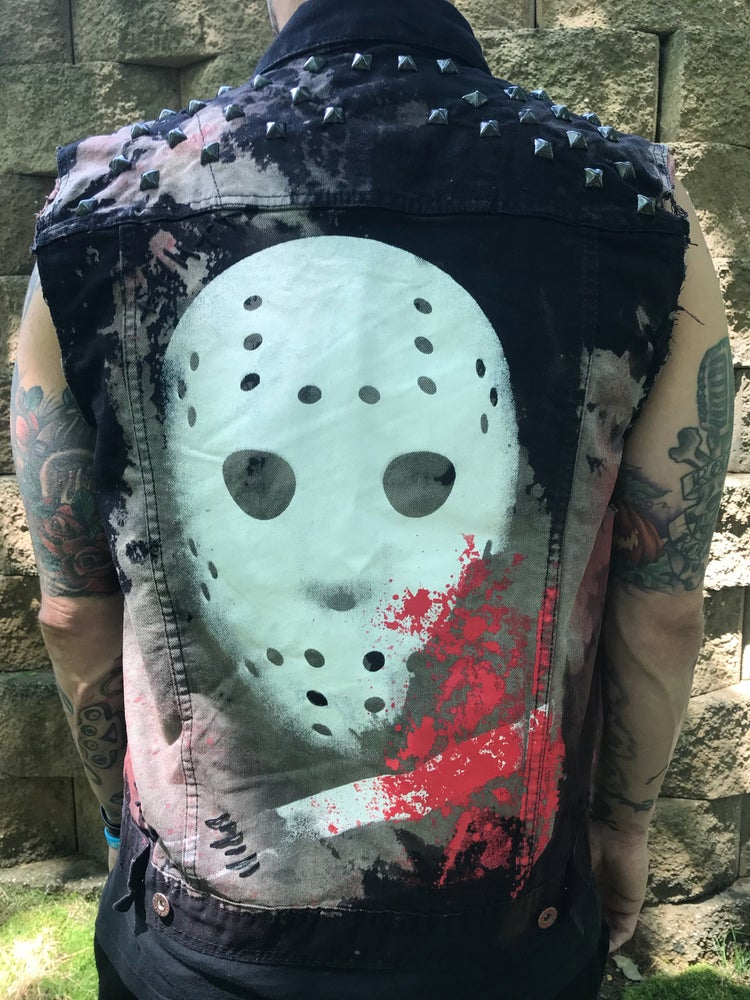 Image of Camp Blood Distressed Vest