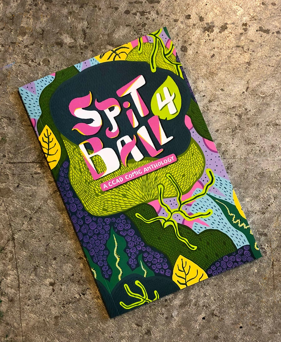Image of SPITBALL 4 : A CCAD Comic Anthology