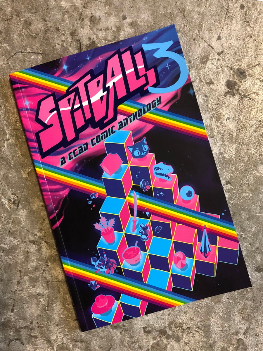 Image of SPITBALL 3 : A CCAD Comic Anthology