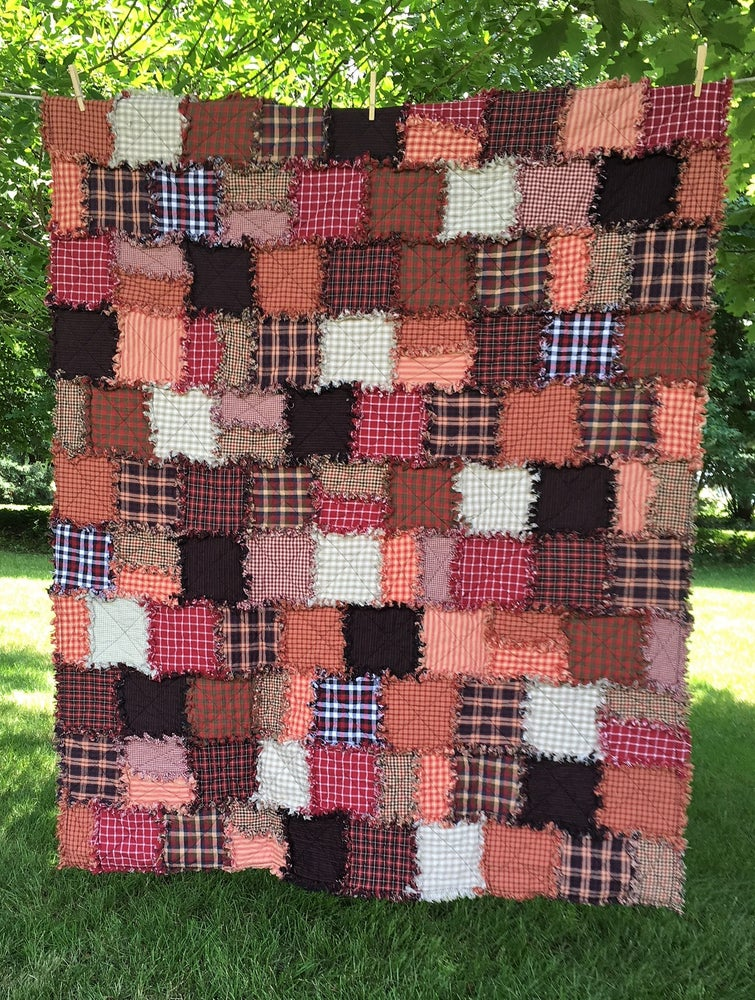 Image of Cardinal Red Custom Quilt