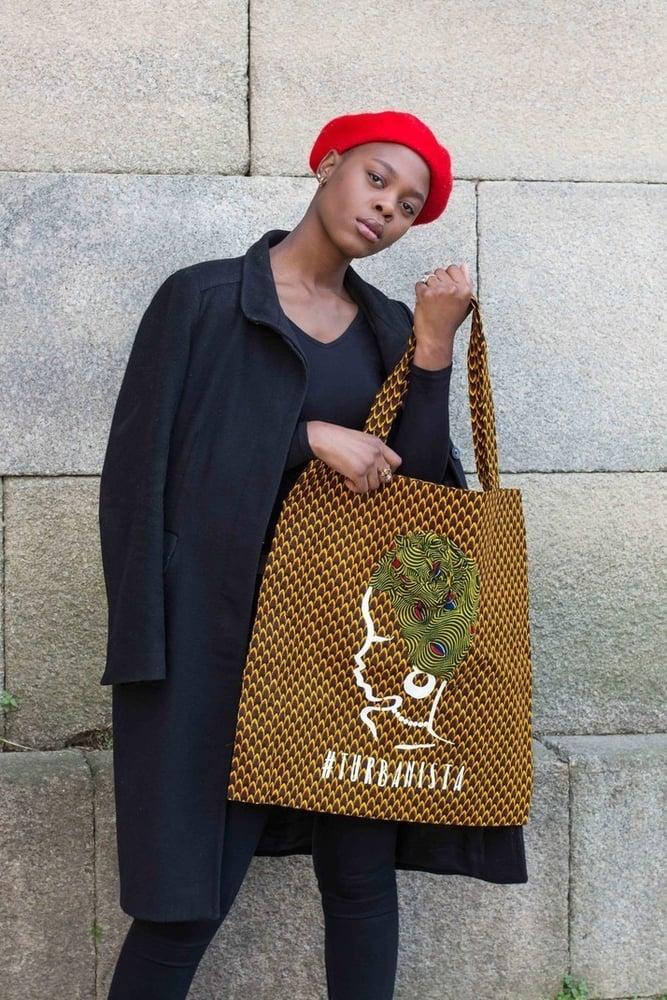 Image of Tote bag XXL Turbanista Ananas 30% OFF