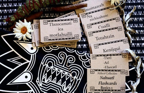 Image of Nahuatl Flash Card Bundle