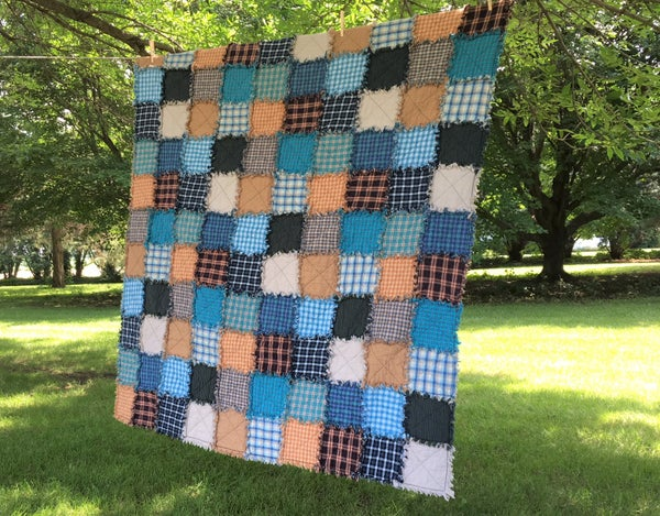 Image of Blue Bird Custom Quilt