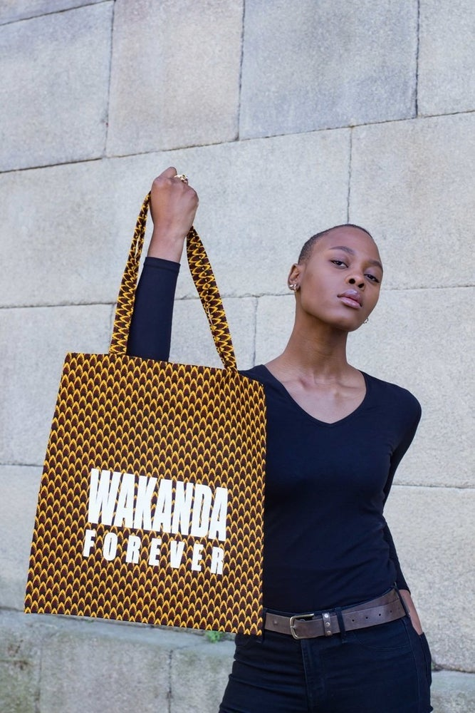 Image of Tote bag Wakanda Forever 20% OFF