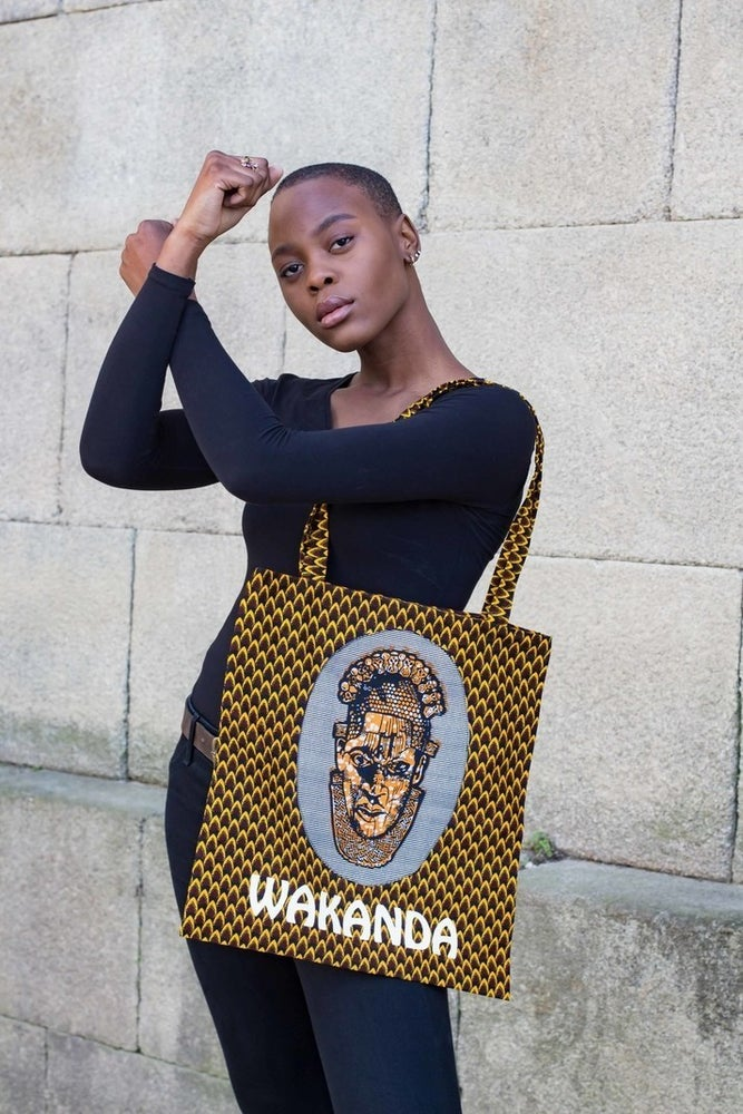 Image of Tote bag Wakanda 20% OFF