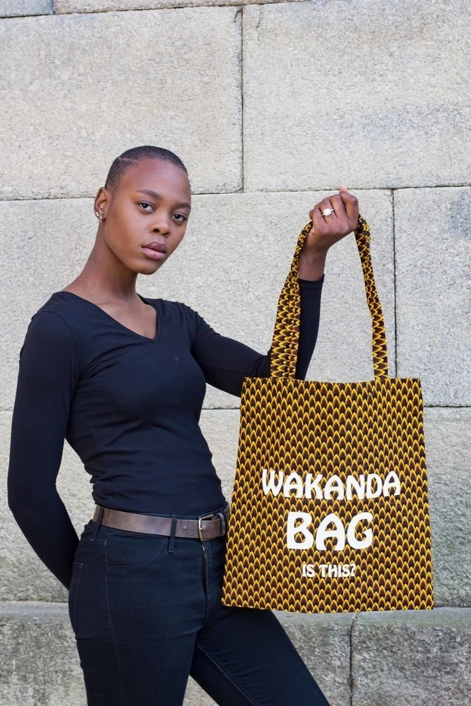 Image of Tote Wakanda Bag Is This? 20% OFF